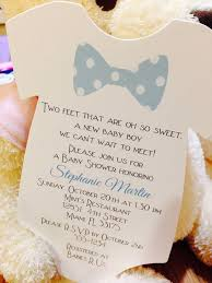 Onesie Baby Shower Invitations Baby Boy Bow Tie Onesie Baby Shower Invitation All Wording