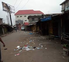 Image result for IMAGES OF COMMUNITY DESERTED IN NIGERIA