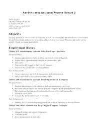 Example Medical Assistant Resume Extraordinary Medical Assistant Resume Objective Samples Resume Ve Sample For
