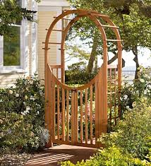 Small Picture Creative Idea Garden Arch With Gate Design Images About