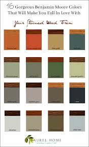 The Stained Wood Trim Stays 16 Wall Colors To Make It Sing