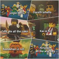 lallallalalalallla | Ninjago memes, Ninjago, Lego ninjago