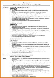 10 Corporate Recruiter Resume Forklift Resume