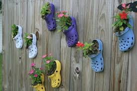Marvelous Crocs Planter