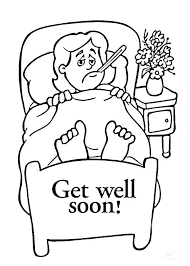 Get Well Soon Cards Printables Get Well Cards To Print Get Well Soon Card Coloring Pages Get Well