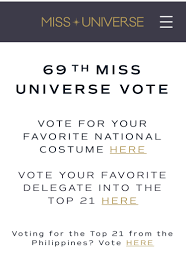 69th Miss Universe pageant ...