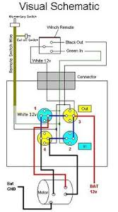 winch wiring diagram aut ualparts com winch wiring hard wired winch set up pirate4x4 com 4x4 and off road forum