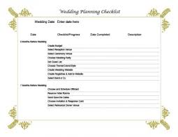 Wedding Coordinator Checklist Wedding Planning Checklist Lovetoknow
