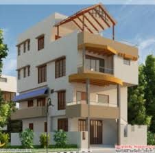 Small Picture 3D Front Elevationcom 1 Kanal Corner Plot 2 House Design