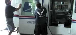 how to troubleshoot the dashboard gauges on an llv postal truck how to replace the window regulator on the side door of an llv postal truck