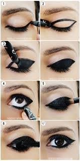 5 outline the shape you want for this bold black look then simply fill it in