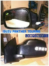spion isuzu panther touring trik black merk emgi