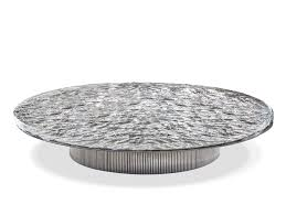 miller round coffee table by