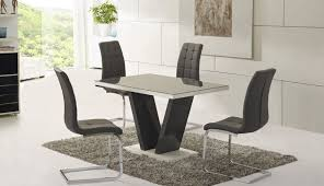 set for glass chairs dining dimensions room gumtree table square small round black argos rooms appealing