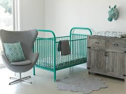 green baby furniture. Metal Baby Cot, Crib, Plastic-free Eco Safe Green Furniture -