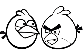 Small Picture Angry Birds Coloring Pages for Your Small Kids