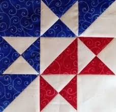 35 Free Star Quilt Patterns: Free Block Designs and Quilt Ideas ... & Split Ohio Star Block tutorial - this would be an awesome barn quilt! Adamdwight.com