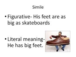 figurative language simile metaphor personification hyperbole 9