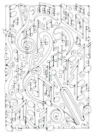 Coloring Pages Music Coloring Pages Free Best Page Fre Music