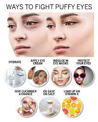makeup tips to reduce puffy eyes