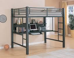 full size loft bed frame queen