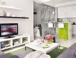 Living Room Sets For Apartments Extraordinary Small Studio Apartment Combining Many Functional