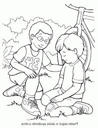 Good Samaritan Coloring Page Mped 28 Collection Of The Good