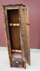 Wood Gun Cabinet. All Images. . Custom Gun Cabinet Build From ...