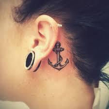 80 Best Behind The Ear Tattoo Designs Meanings Nice Gentle 2019