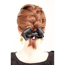 瀬戸早妃 手作りのヘアバレッタで ヘアアレンジ 編み込み