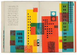 Children S Book Graphic Design Childrens Book On Shapes And Forms Mid Century Modern