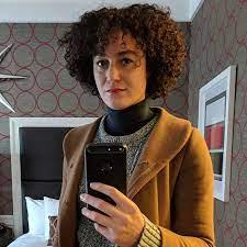 how i cut my own curly hair