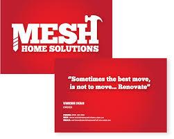 Business Card And Logo Design For Home Renovation Company Yumcreative