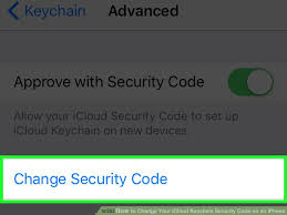 Icloud Security Code How To Change Your Icloud Keychain Security Code On An Iphone