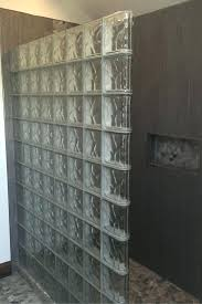 glass blocks best glass block shower ideas on glass blocks wall home improvement