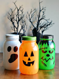 Decorating Mason Jars For Halloween 60 Mason Jars Halloween Decorations Ideas Crafts Jars and 2