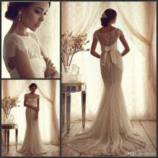 vintage lace luxury trumpet wedding dresses 2015 new cheap short