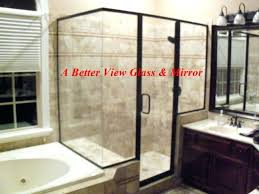 diy frameless glass shower doors shower glass protection for semi glass shower with two knee walls