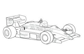 Race Car Color Pages Free Printable Race Car Coloring Pages Racing