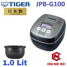Nồi cơm điện cao tần áp suất IH TIGER JPB-G100 nội địa Nhật mới 97