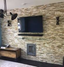 stone wall tile. Exellent Stone Image Is Loading OYSTERSLATEMULTICOLOURSplitFaceStoneWall For Stone Wall Tile I