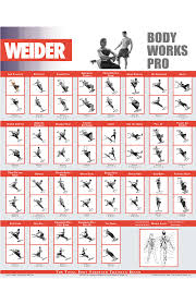Weider Body Works Pro Chart Pin By Alluvium13 On Move It Total Gym Workouts Gym