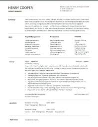 Junior Project Manager Resume Resume Example Construction Project