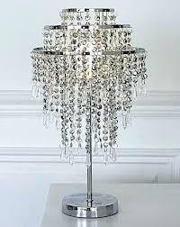 beaded bling lamp shades silver table crystal floor medium size of shade ta