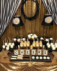 black and gold birthday table decorations black and gold party ideas black and white stripes with