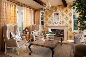country style living rooms. Vintage Wallpaper Patterns For Country Style Living Room Rooms Y