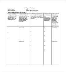 nursing care plan template schoenerblog sample nursing care plan template 8 free documents in