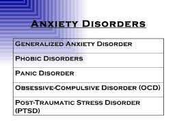 psychological disorders rev  5 anxiety disorders