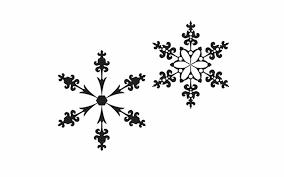 ペンツールを使わずに作る雪の結晶のイラストillusutrator
