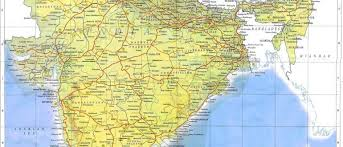 indian railways map maps of india